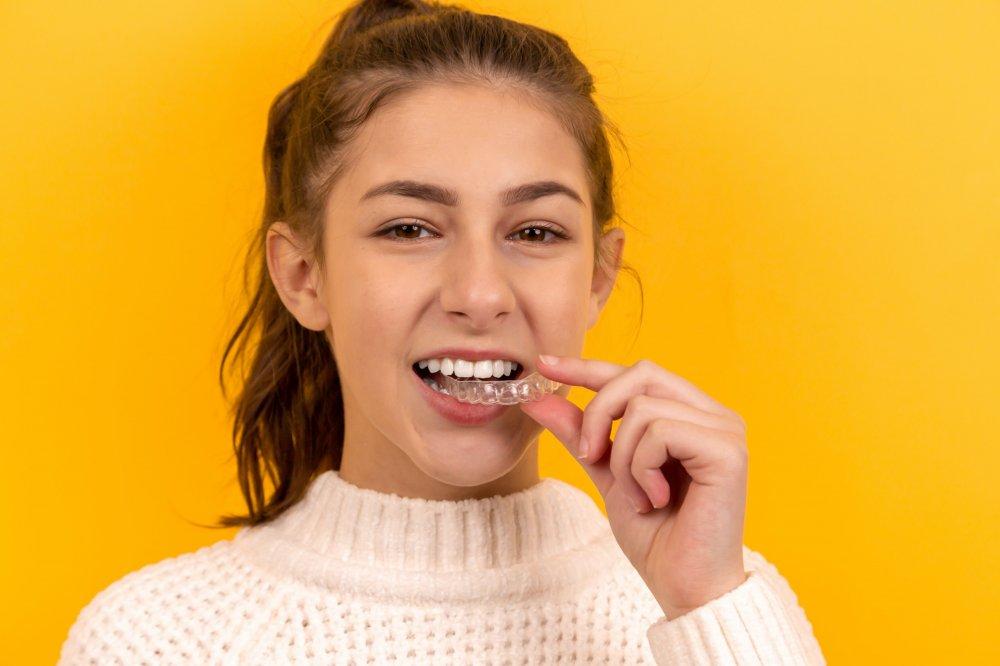 Invisalign behandling er effektiv mod skæve tænder
